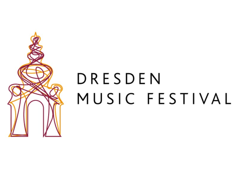 Logo of the Dresden Music Festival