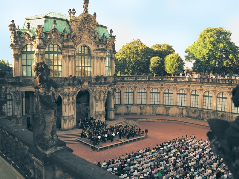 Concert at the Dresden Zwinger