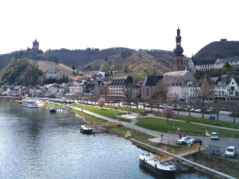 Cochem: View of the Imperial Castle