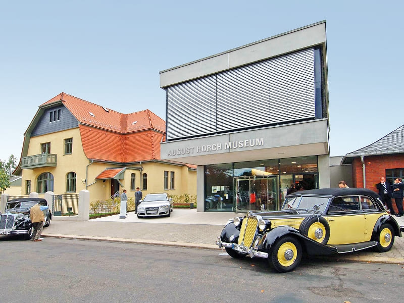 August Horch Museum Zwickau  © 4th Saxon State Exhibition