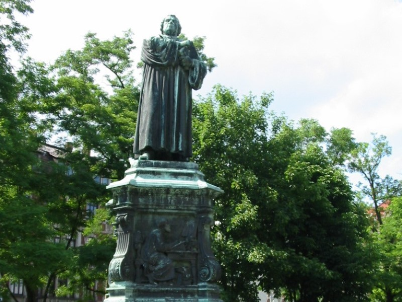 Memorial of Luther in Eisenach