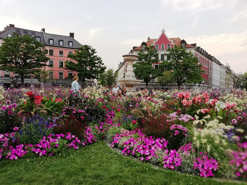 Place of the gardeners in Munich