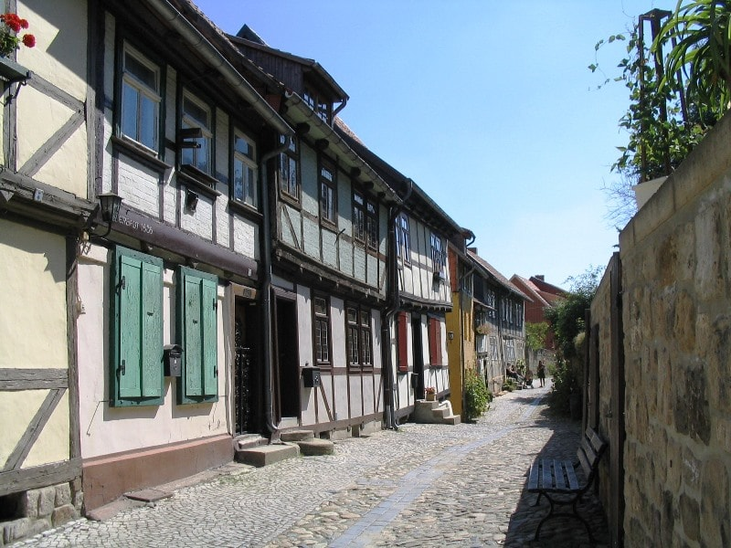 Timbered houses in Quedlinburg © AugustusTours