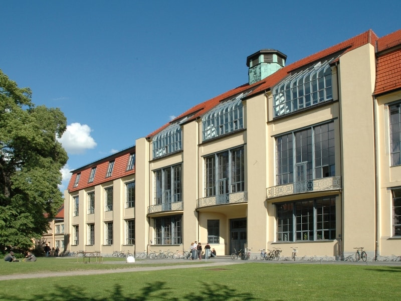 Bauhaus University in Weimar © Bauhaus-Universität