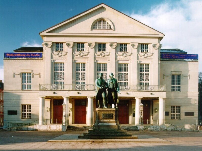 Nationaltheater Weimar © Touristinformation Weimar