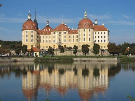 The hunting lodge Moritzburg.