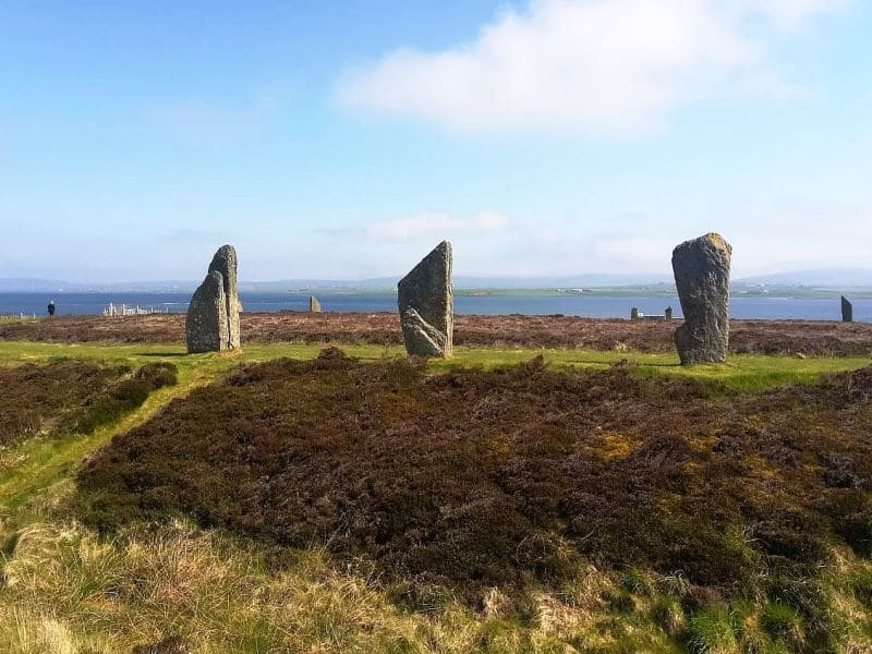 Ring of Brodgar auf den Orkney-Inseln © Wind and Cloud Travel