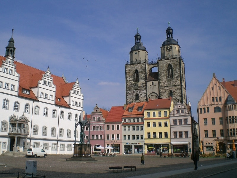 Marketplace Luther Town of Meissen