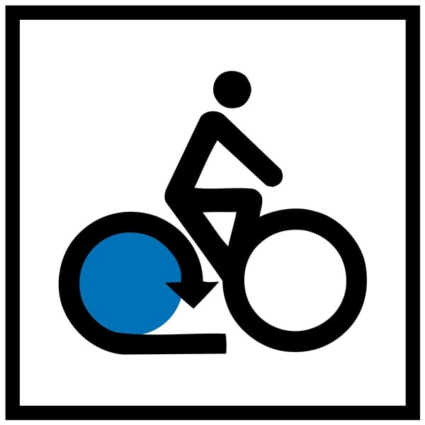 Logo of the Lake Constance Cycle Route