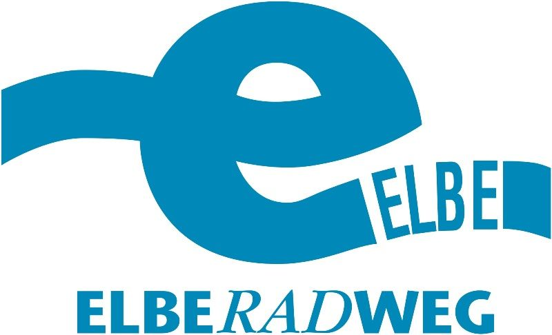 Logo of the Elbe River Cycle Path