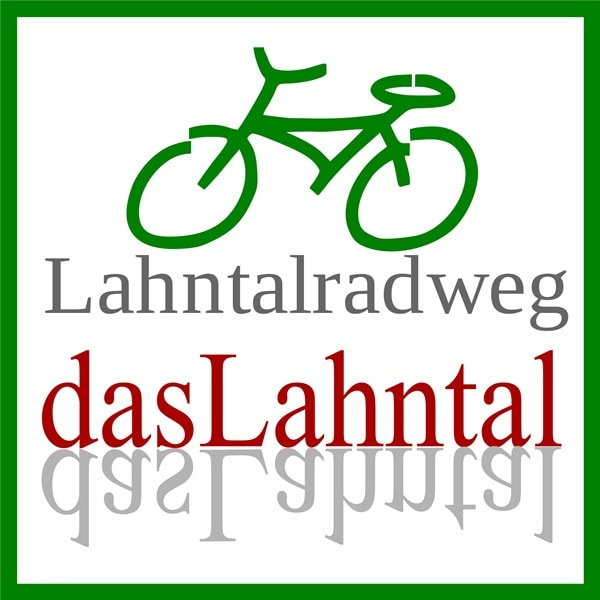 Logo of the Lahn River Cycle Path