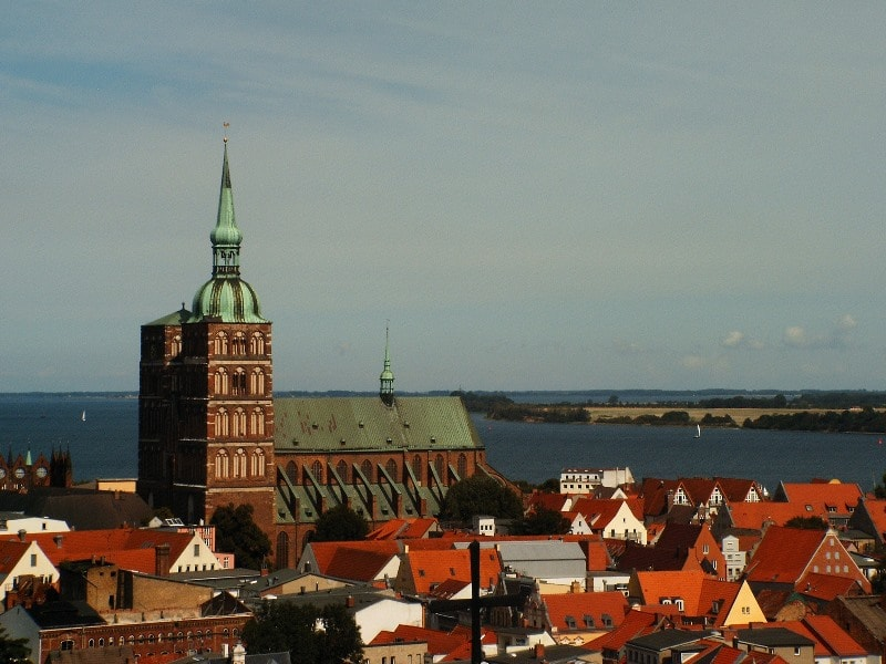St. Nikolas' Church in Stralsund