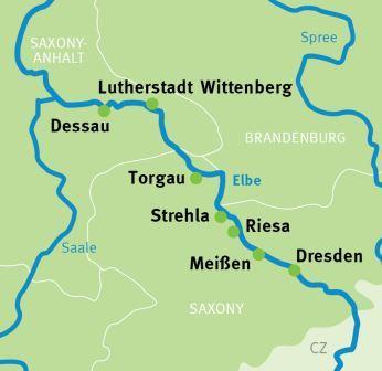 Dresden Dessau Elbe Cycle Path Cycling Holidays Germany