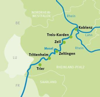 Mosel Radweg Karte Pdf.Trier Koblenz Mosel Radweg Radreisen Radtouren Augustustours