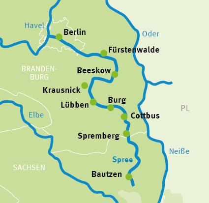 Bautzen Berlin Spreeradweg Und Spreewald Radreisen Radtouren Augustustours