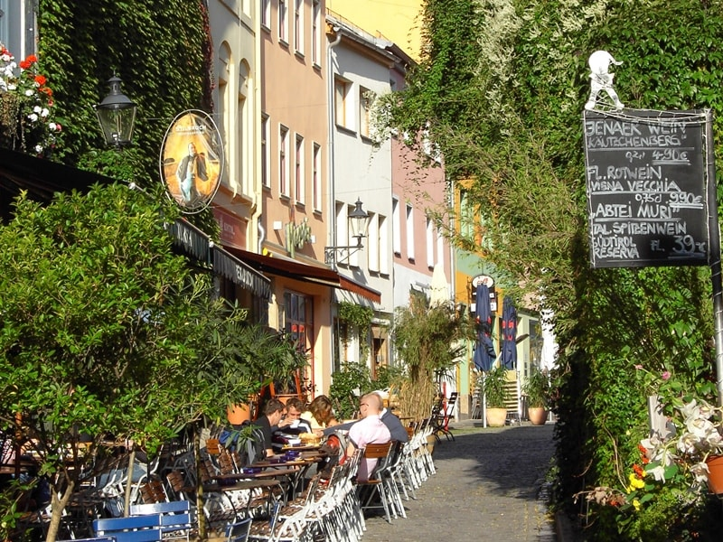 Wagnergasse in Jena © AugustusTours