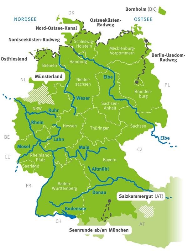 Nordseekuste Und Nord Ostsee Kanal Radreisen Radtouren