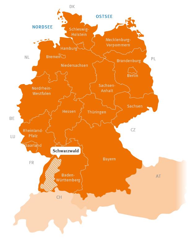 Schwarzwald Wanderreisen Augustustours